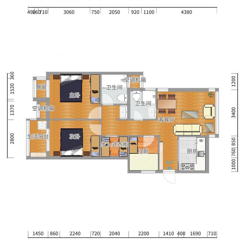 圣奥领寓-副本户型图