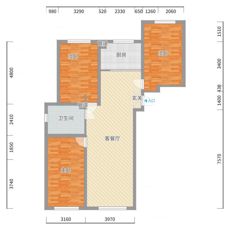 长春_长春明珠一期_2017-10-21-1726户型图