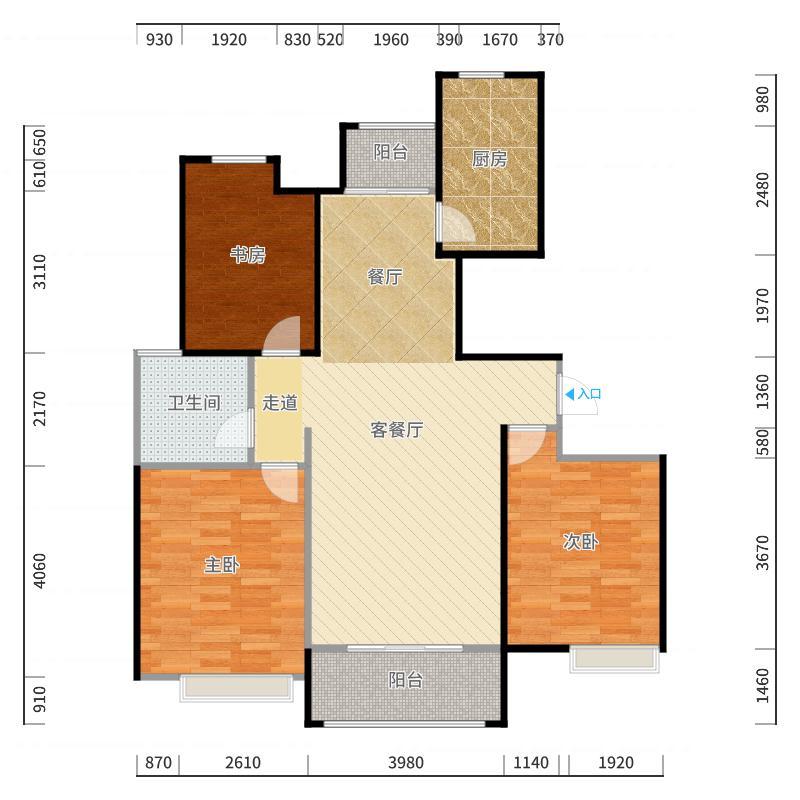淮安_绿地世纪城_2017-10-21-2020户型图