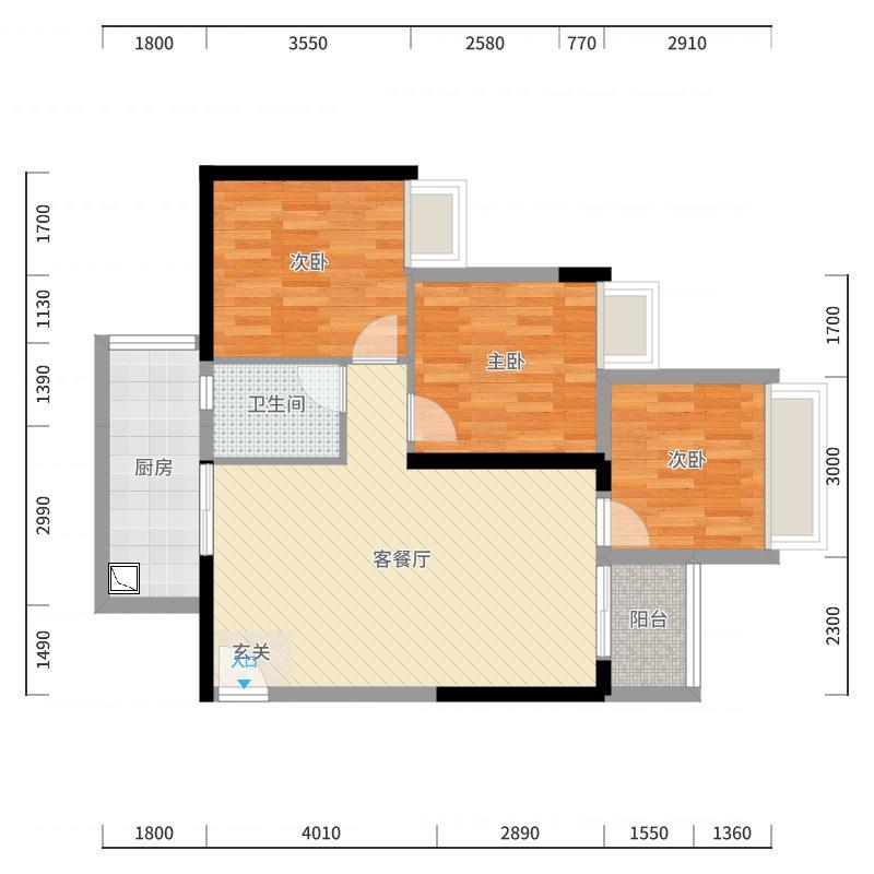 香山湖香山公馆-副本户型图