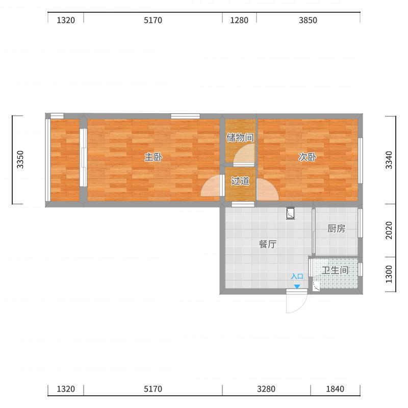 徐建华-海淀区-紫竹院南路方案2户型图