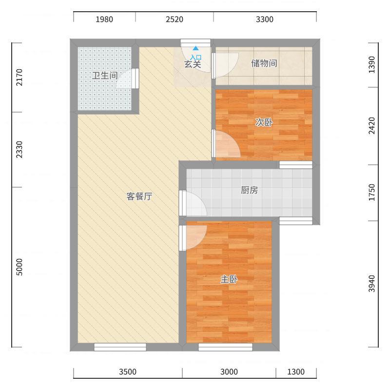 北京_东洲家园_2017-10-21-2037户型图