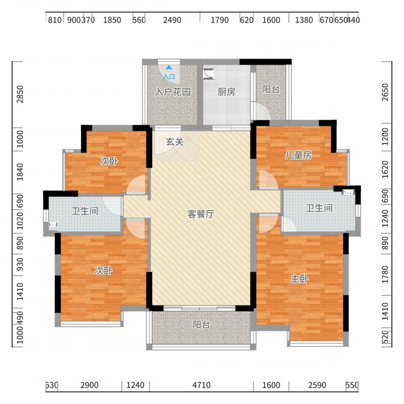 清远_恒福隽园_2017-10-21-2340户型图
