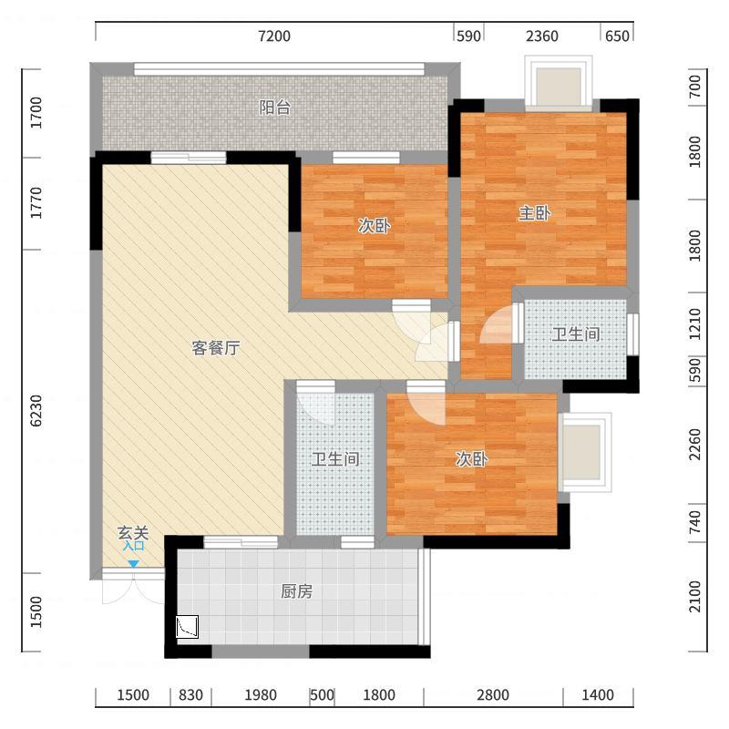重庆_龙腾盛世_2017-10-22-1117户型图