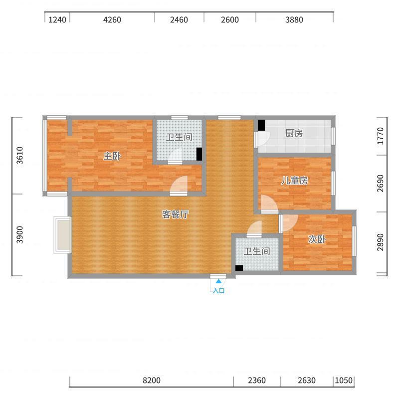 水厂3-2903户型图