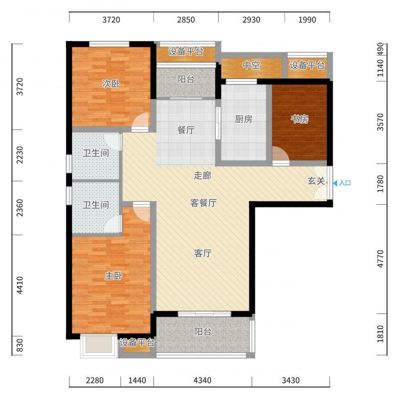 郑州_西溪花园_2017-10-22-1315户型图
