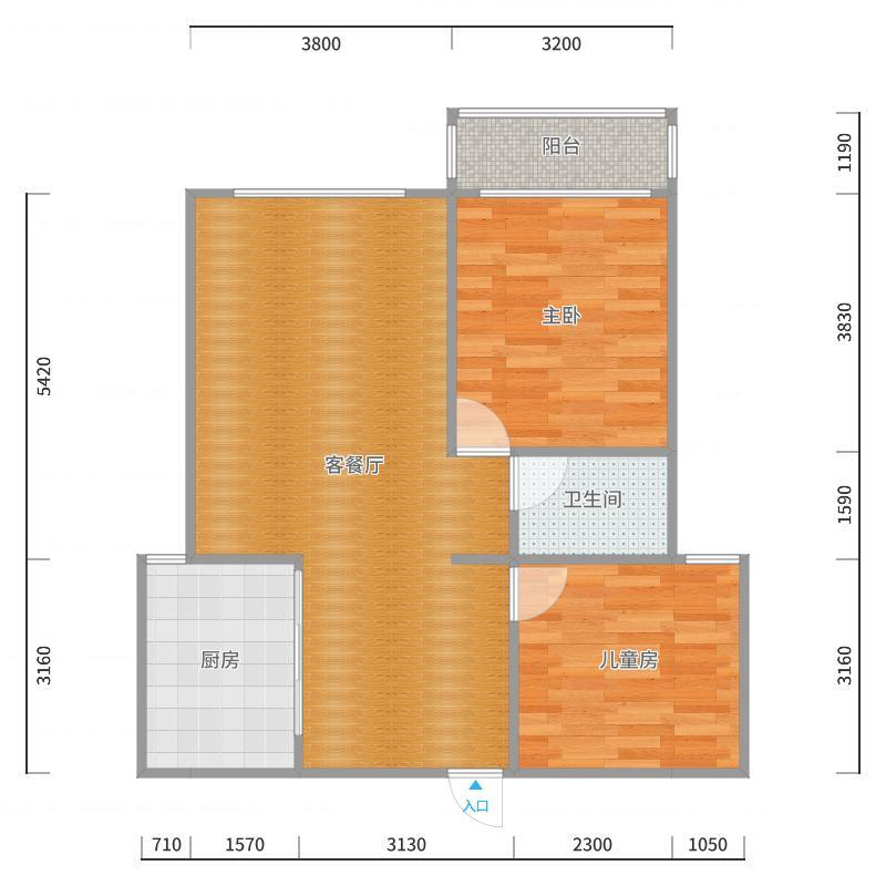 博阳2号楼--1602_2017-10-22-1347户型图