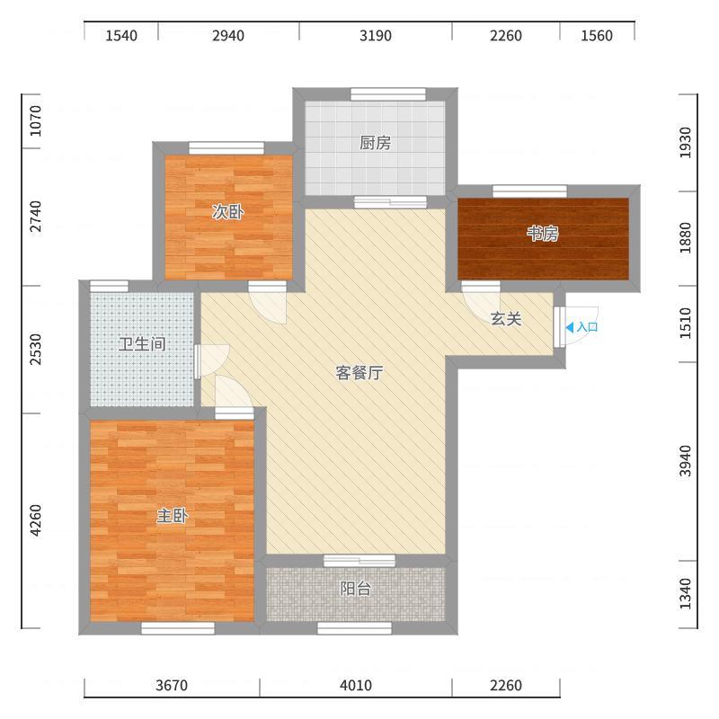 天津_融科瀚棠_2017-10-22-1412户型图