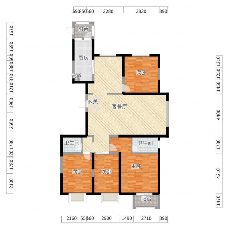 太原_公园五号_2017-10-22-1439户型图