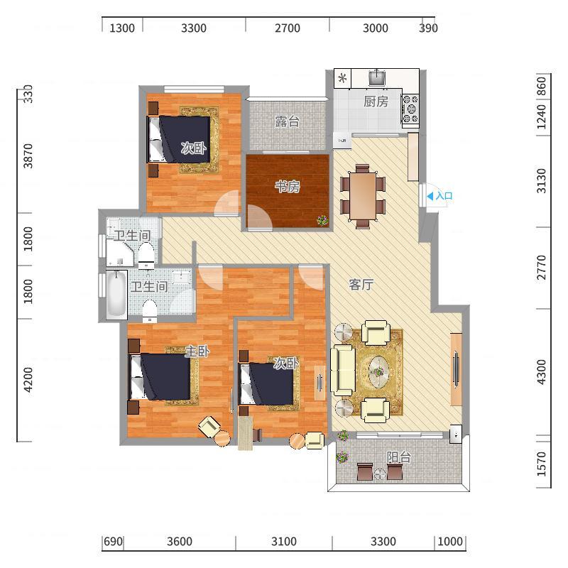 思茅_公园一号_2017-10-22-1730户型图