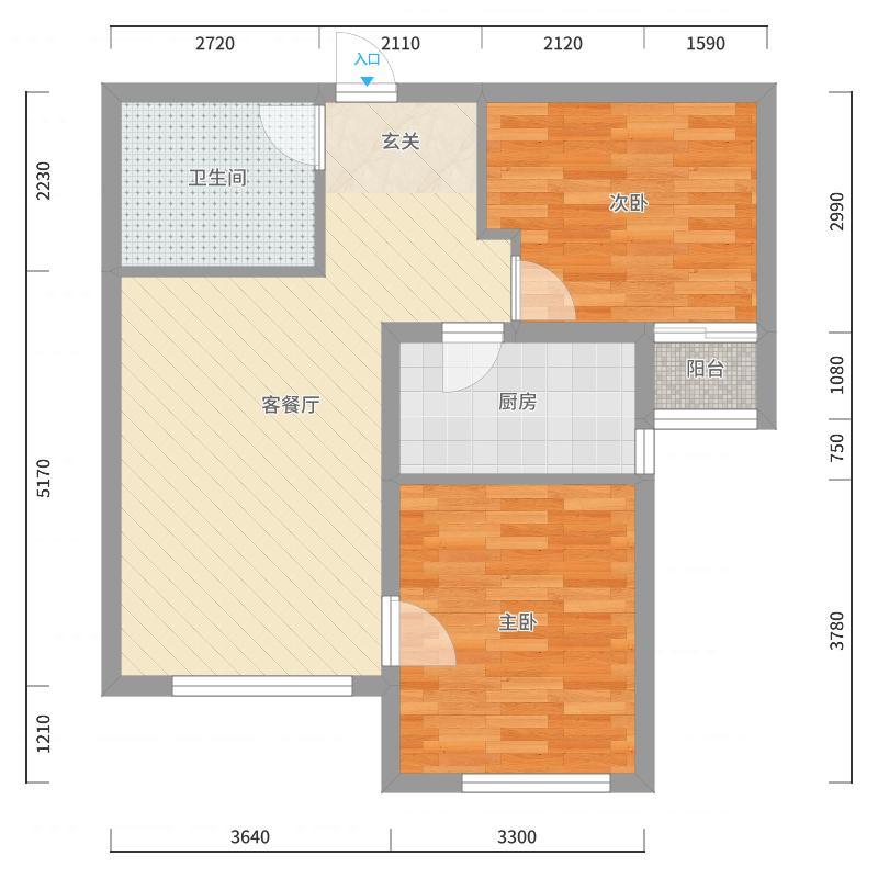 张家口_万悦_2017-10-22-1149户型图