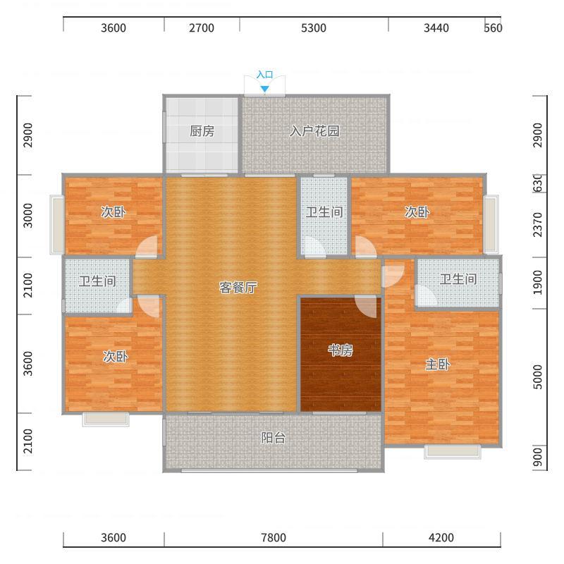 福临门173户型图