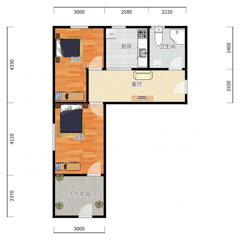滨海南区-民安里-13-3-103.jpg户型图户型图