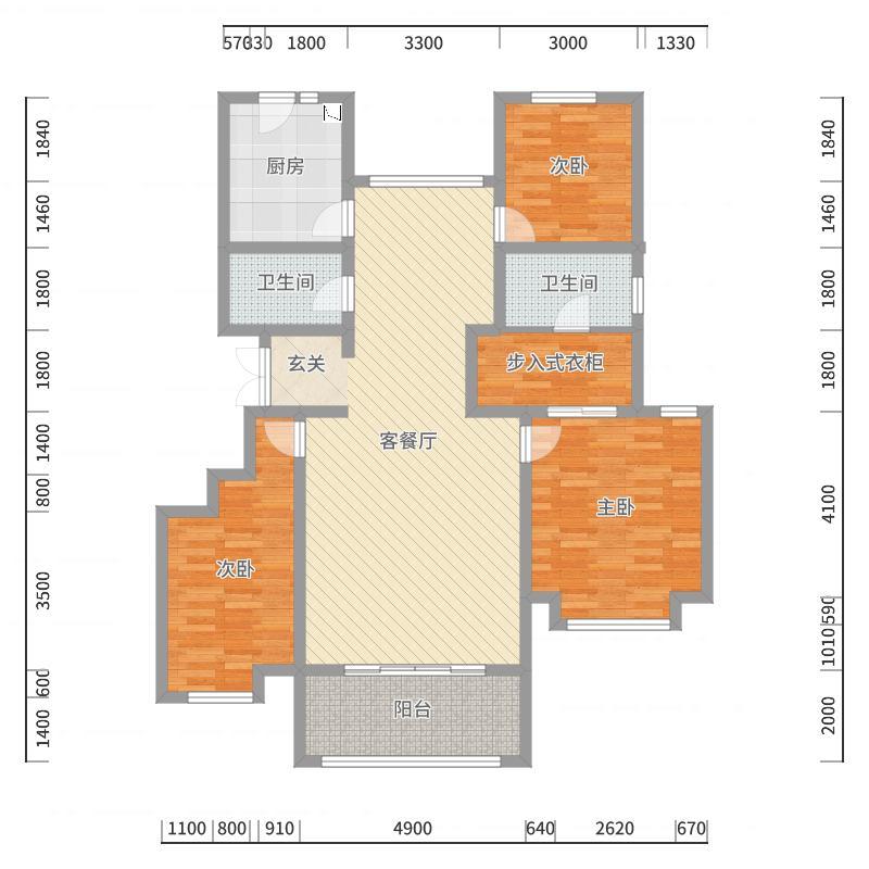 石家庄_公园壹号院_2017-10-22-2025户型图