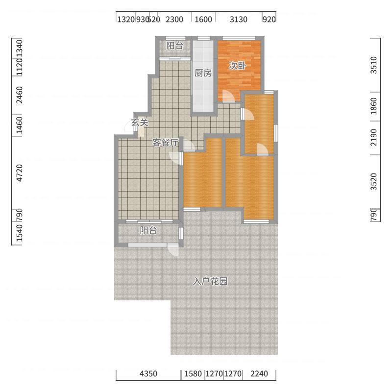 天房美郡国际城户型图