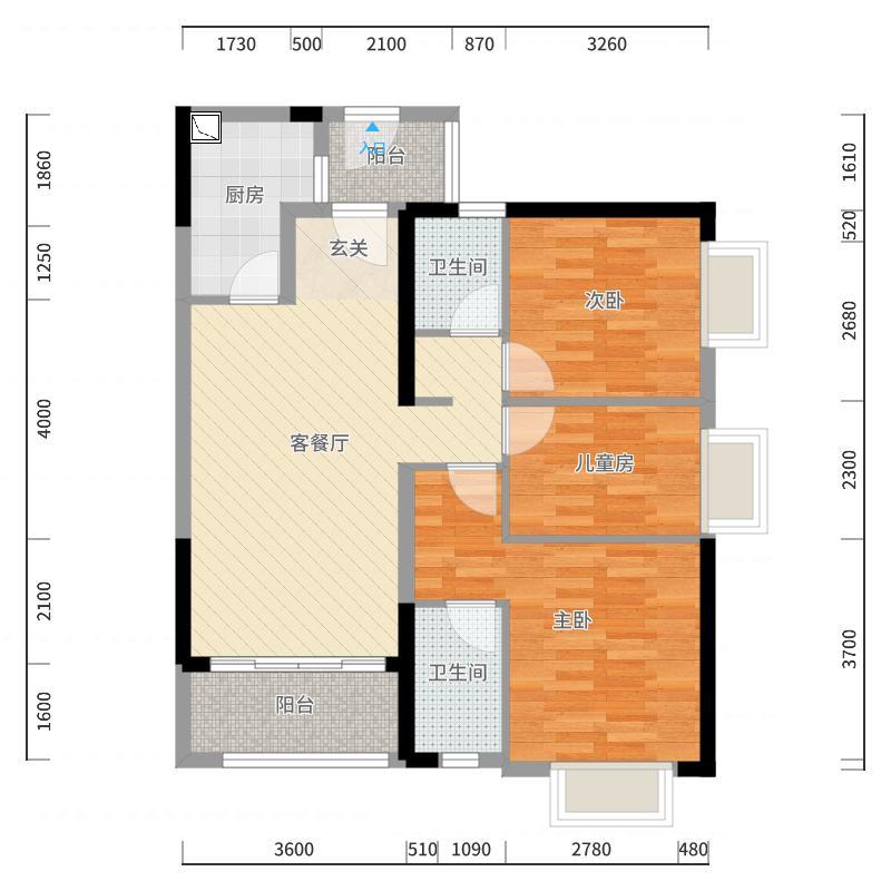 广州_时代春树里_2017-10-22-2113户型图