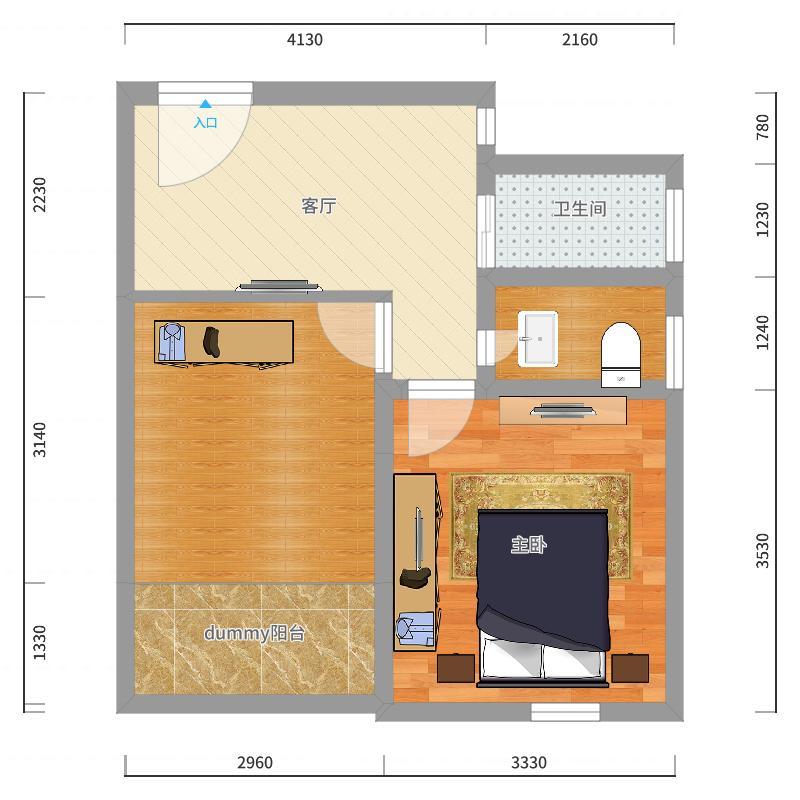 香山新村东南街坊1840弄户型图