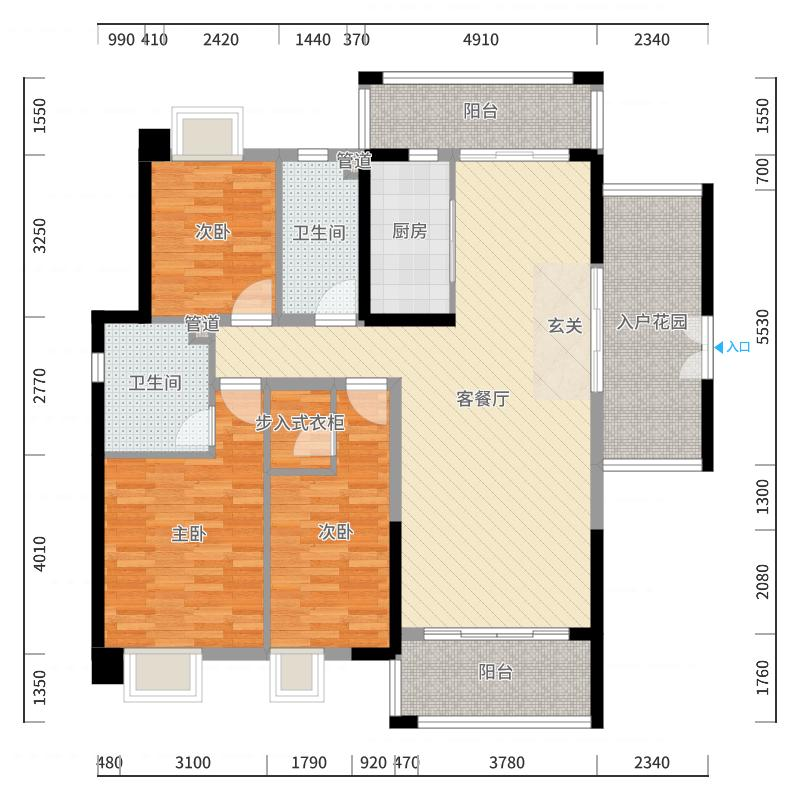 珠海_尚东领御_2017-10-20-1414-副本户型图