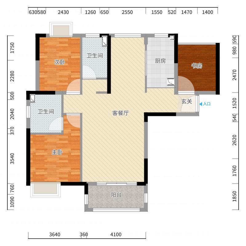 上海_佳兆业城市广场_2017-10-23-1631户型图