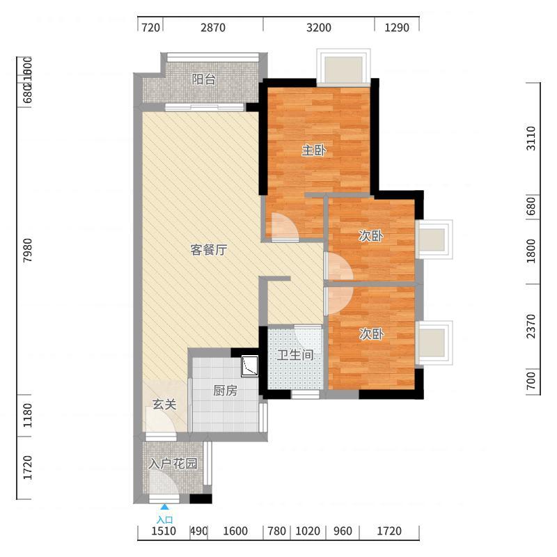 广州_万科东荟城_2017-10-23-1722户型图