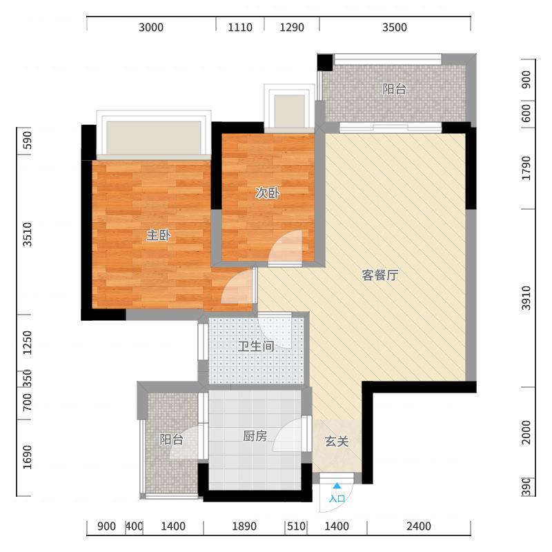 广州_时代倾城_2017-10-23-1721户型图