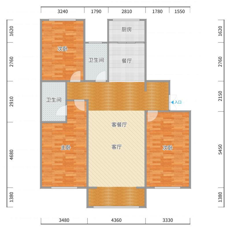 夏都府邸东区--蒋170_2017-10-23-1701户型图