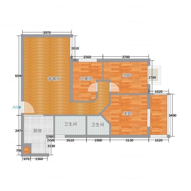 东沙公寓最终户型图