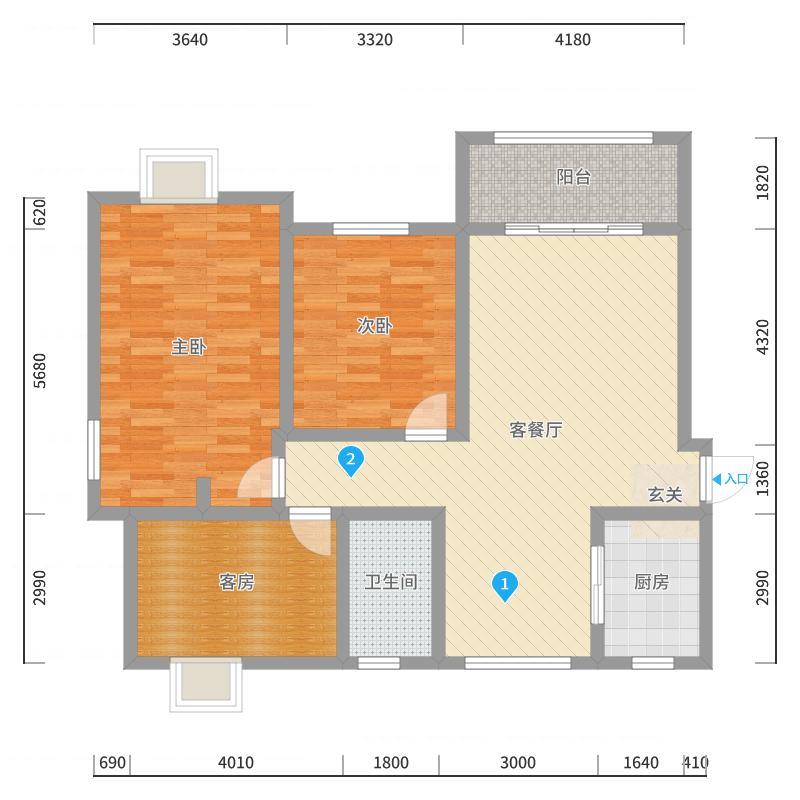 常州_幸福城13栋_2017-10-23-1716户型图