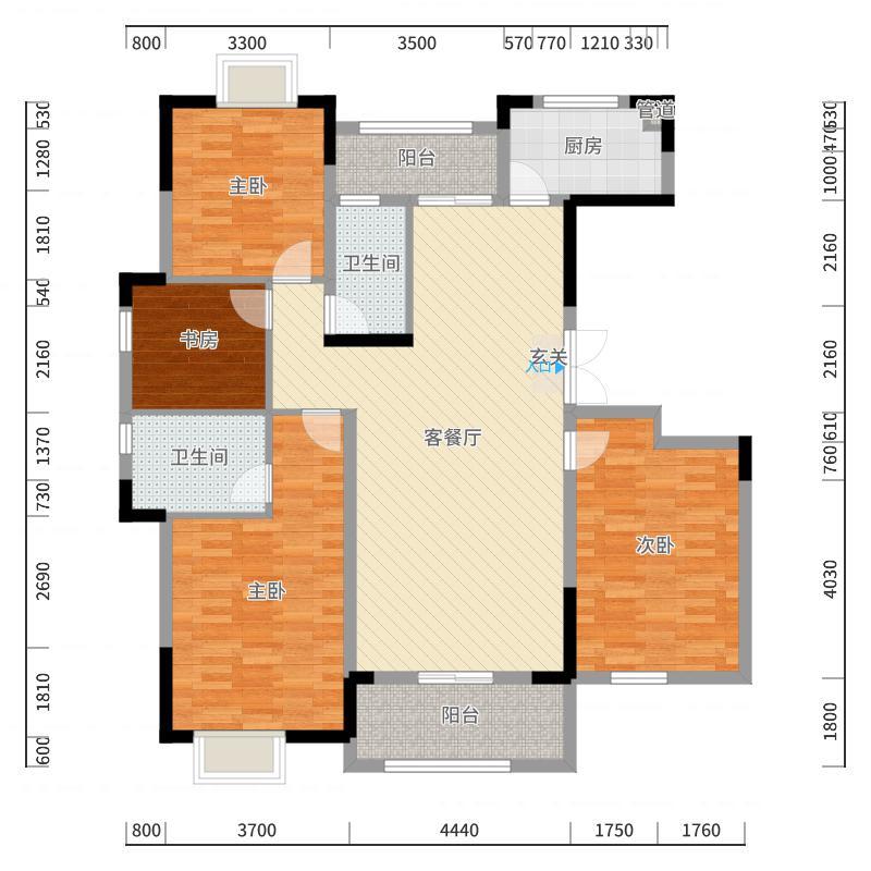 益阳_滨江花园_2017-10-23-1839户型图