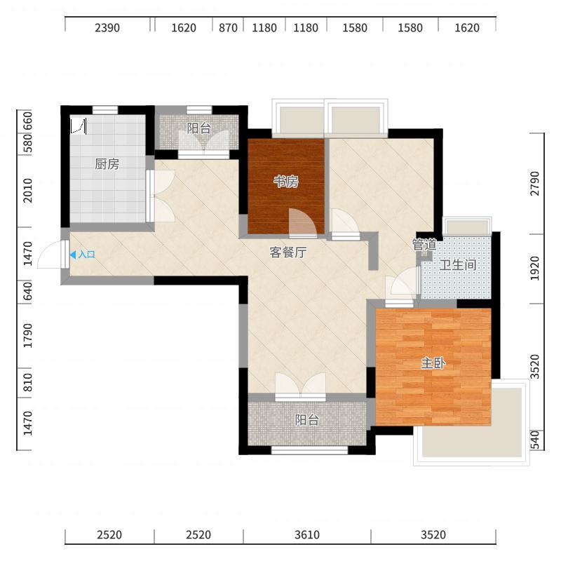 上海_城开珑庭_2017-10-23-2007户型图