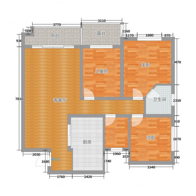 银湖星城 - 副本户型图