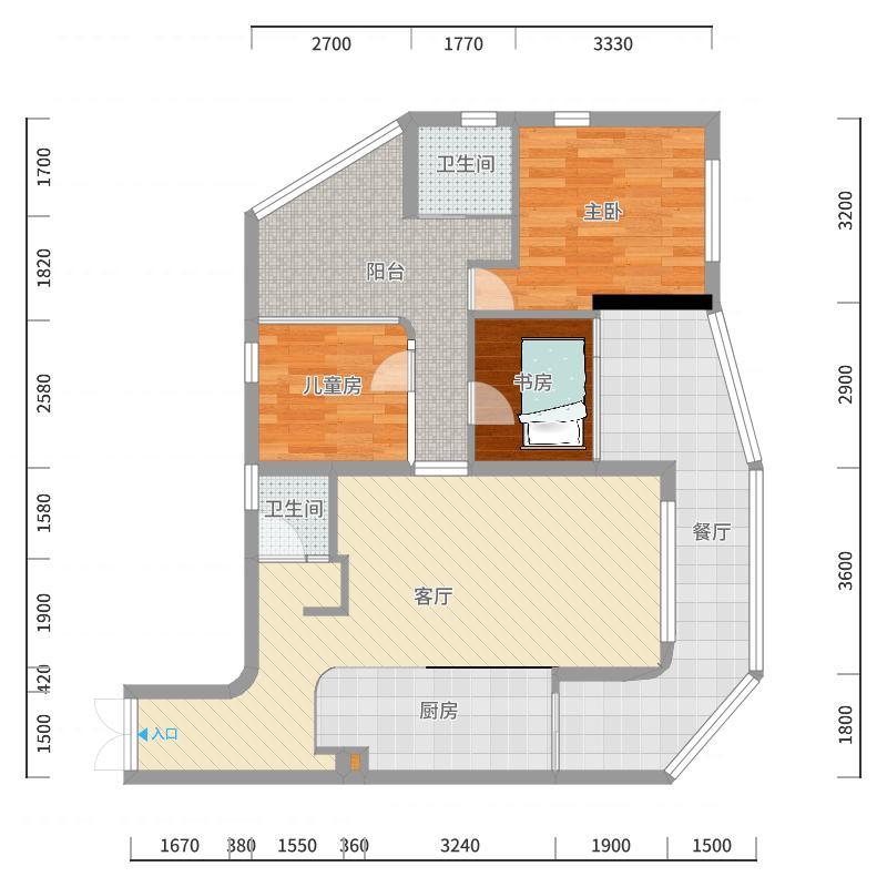 阳台改动最终版-副本-副本-副本户型图