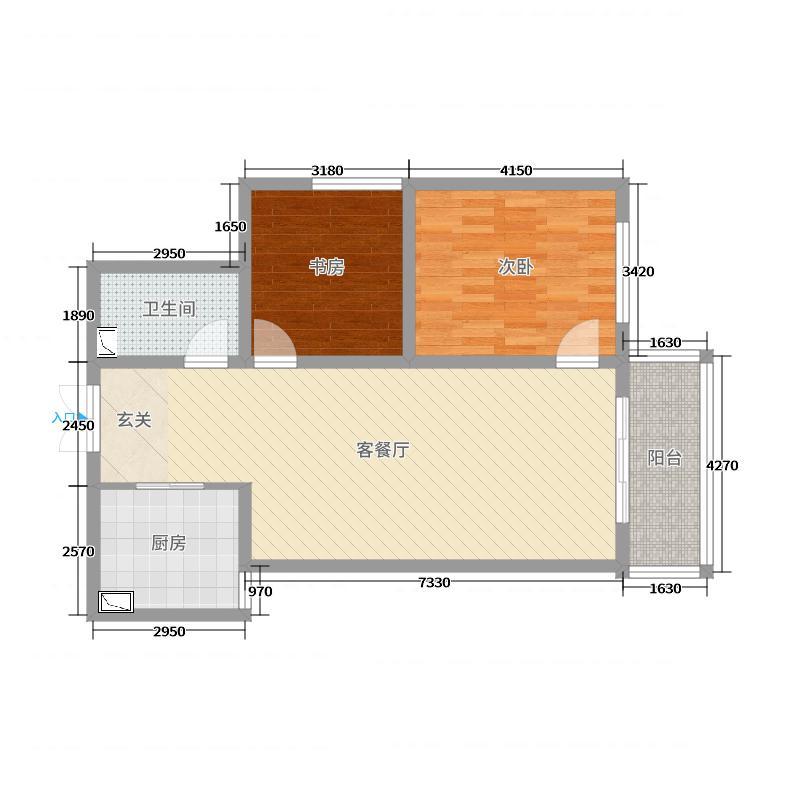 福麟小镇户型图