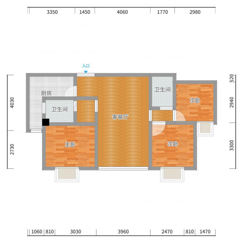 焊管厂18-5户型图