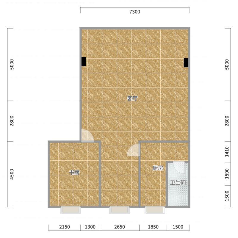 英德九龙复式楼房1层_2017-10-23-0747户型图