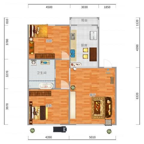 新星小学教师公寓户型图
