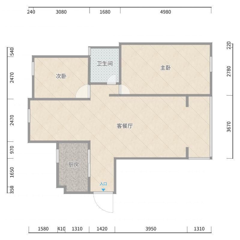 城东新苑户型图