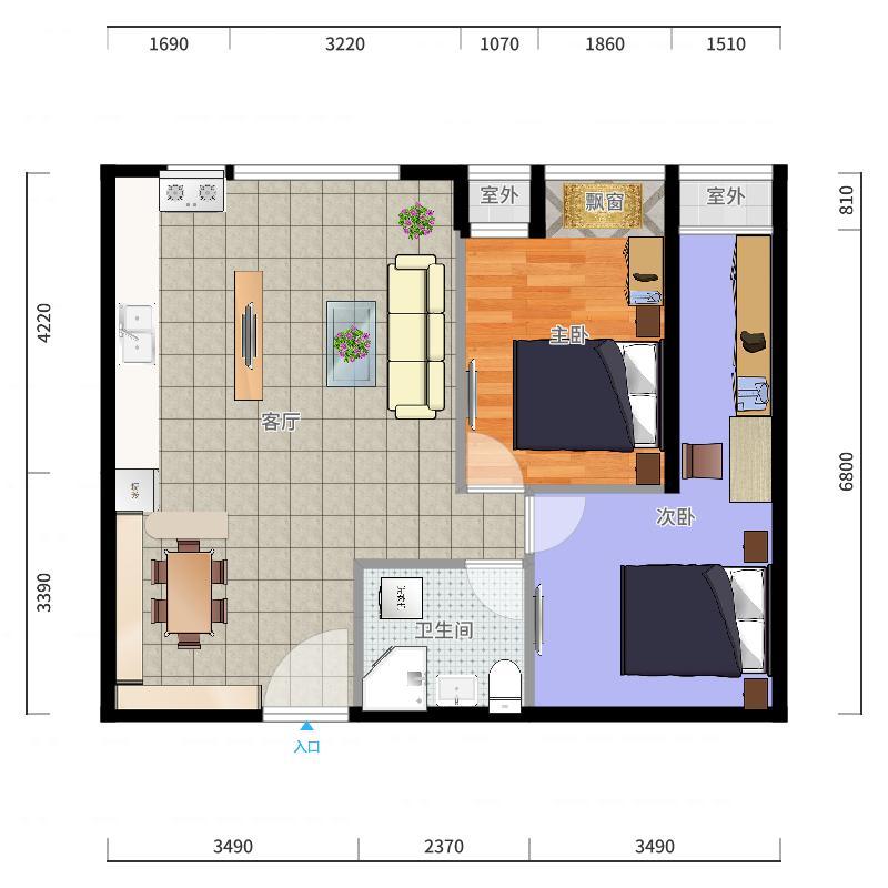 我的设计-0409-10:23-副本户型图