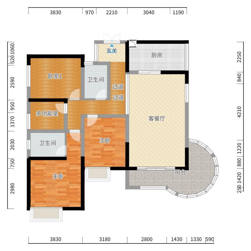 佛山_中海金沙水岸_2017-10-23-0933户型图