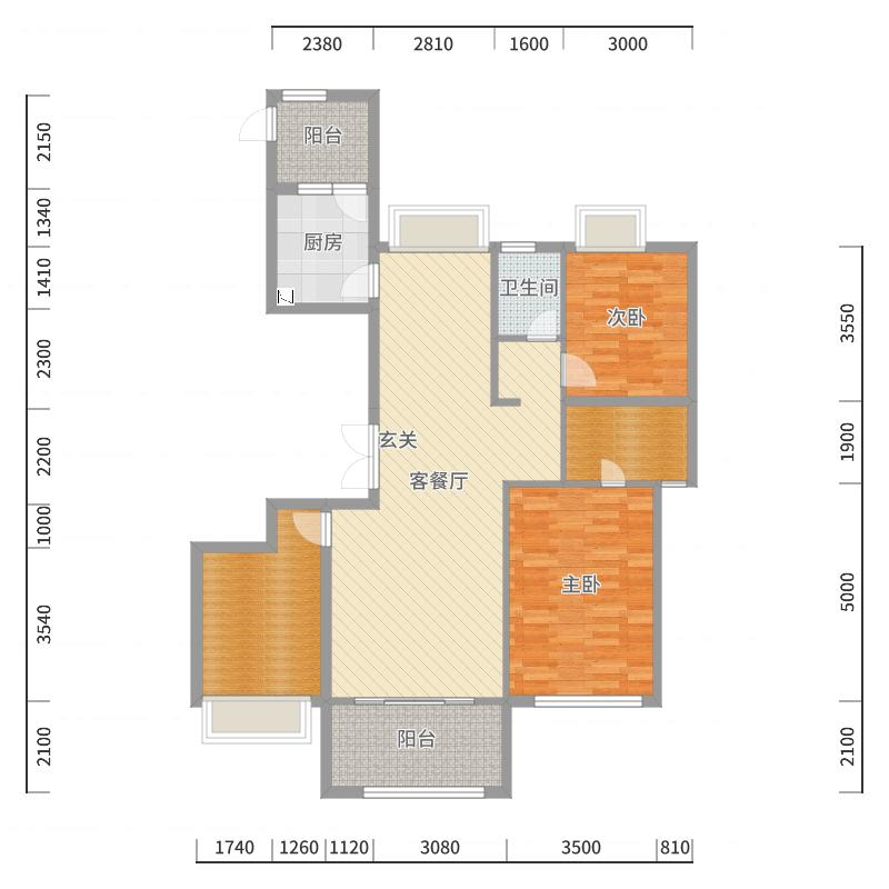 海航豪庭户型图