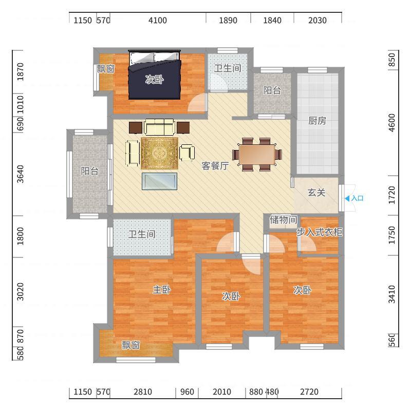 明珠家园户型图