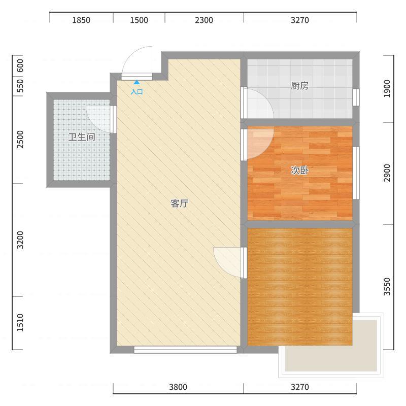 碧桂园银河城-床体展开效果-副本户型图