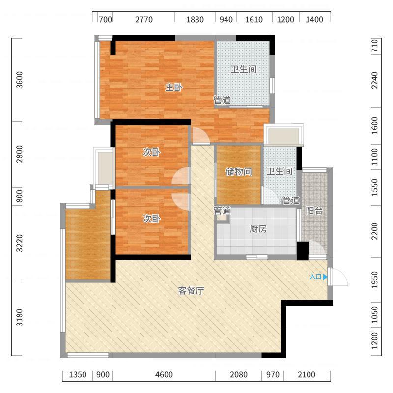 成都_万科金域西岭_2017-10-23-1123户型图