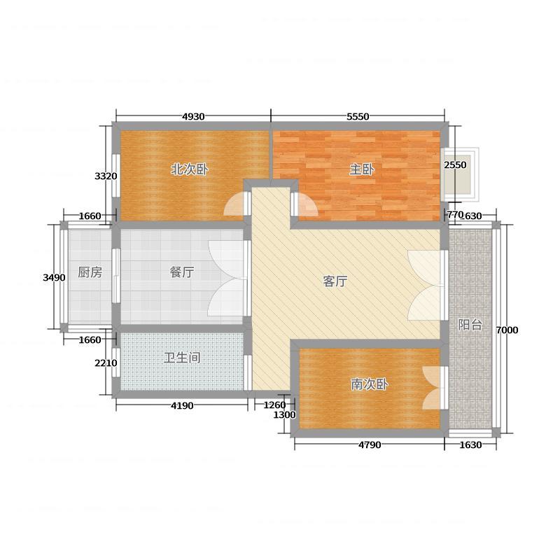 翰林国际西小区户型图