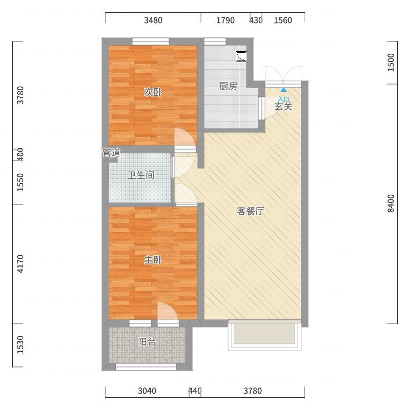 金隅香溪家园户型图