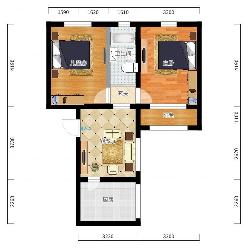锦安公寓户型图