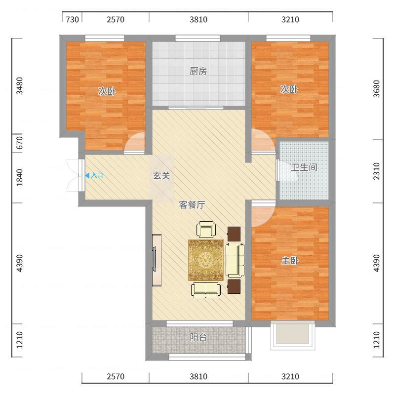 唐山_世纪龙庭二期_2017-10-20-1510-副本户型图