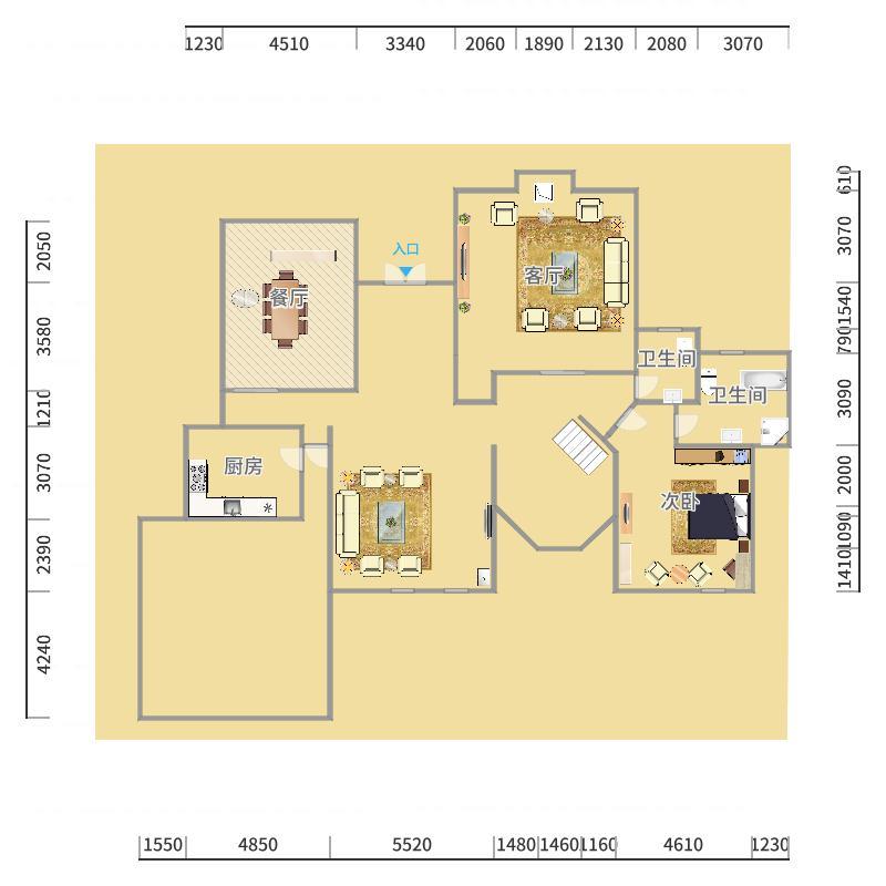上海_泰晤士小镇公寓_2015-12-09-1928户型图