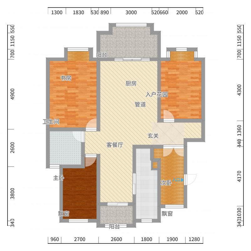 金星中央城-副本户型图
