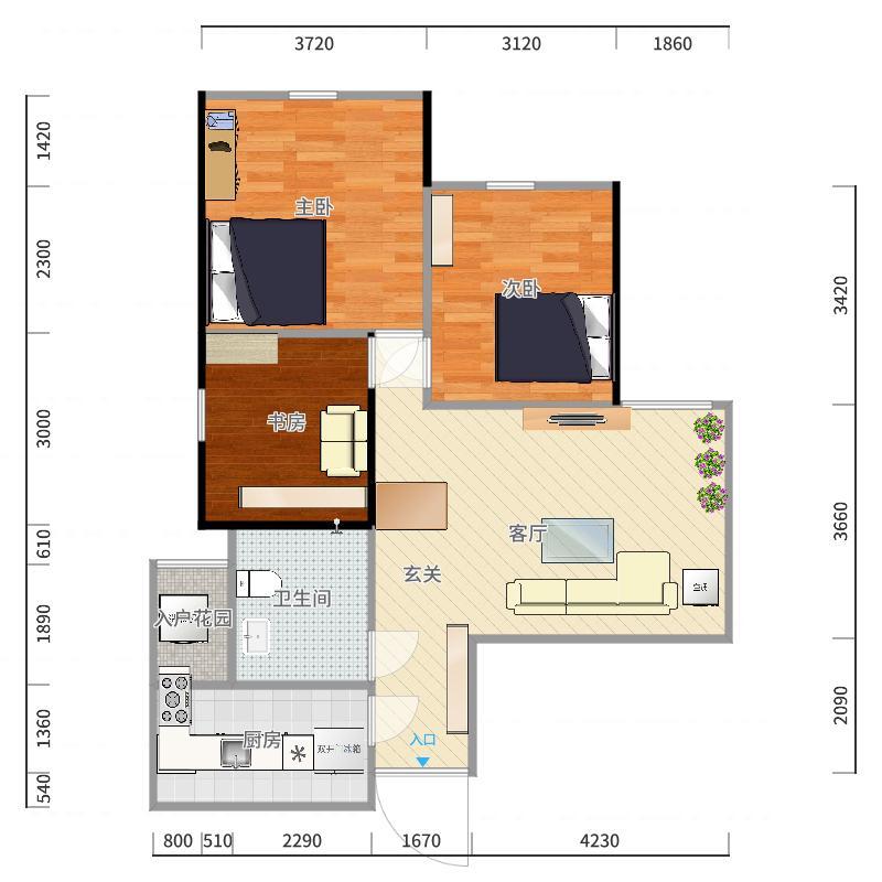 house户型图